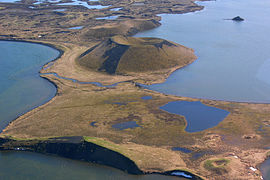 Aerial View of a Pseudo Crater at Mývatn 21.05.2008 15-22-53.JPG