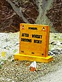 After Whiskey Driving Risky. Jispa to Leh.jpg