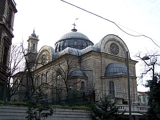 Minorities in Turkey - Aya Triada Greek Orthodox church in Beyoğlu, Istanbul