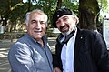 Agim Sulaj and Giorgo Mitsi, Painters, by photo Harry Gouvas.jpg