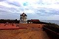 Aguada Lighthouse in Aguada Fort Goa.jpg