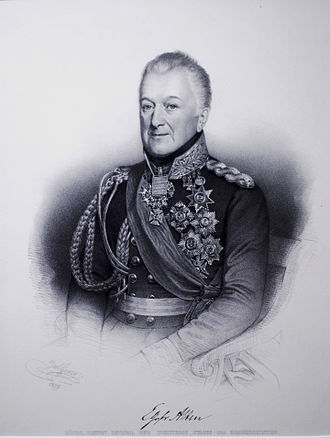 Charles, Count Alten - Alten as Minister of War
