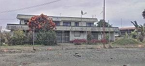 Lae Airfield - Photo of original Air Niugini terminal at old Lae airfield. Taken 29 January 2014
