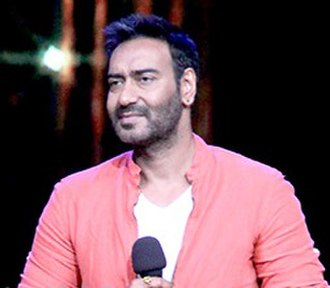 Ajay Devgn - Devgn at a promotional event for Drishyam