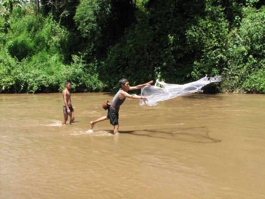 Akha fishing