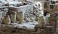 Akrotiri Archeological Excavation Pithoi store room 01.jpg