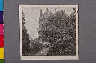 Ala do Histórico Castelo D'Eu em Que Se Achavam Os Aposentos de Seu Último Titular, o Príncipe Gastão de Orléans, Que Aí Passou Seus Derradeiros Anos de Vida