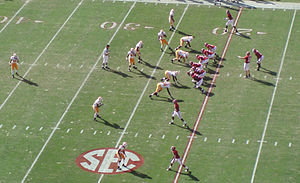2009 Alabama Crimson Tide football team - Alabama won the game, despite not getting a touchdown.