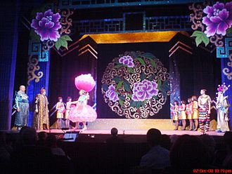 Nottingham Playhouse - Aladdin Pantomime in 2008