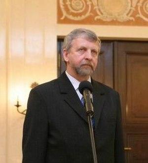 Belarusian presidential election, 2006 - Image: Alaksandar Milinkievic