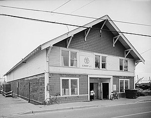 National Register of Historic Places listings in Sitka, Alaska - Image: Alaska Native Brotherhood Hall, Sitka Camp No. 1, Katlian Street, Sitka, (Sitka Borough, Alaska)