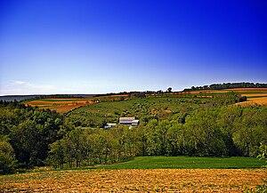 Albany Township, Berks County, Pennsylvania - A farm in Albany Township
