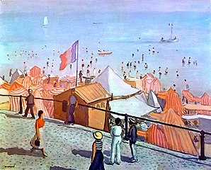 Les Sables d'Olonne, beach
