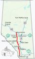 Alberta Highway 22 Map.png