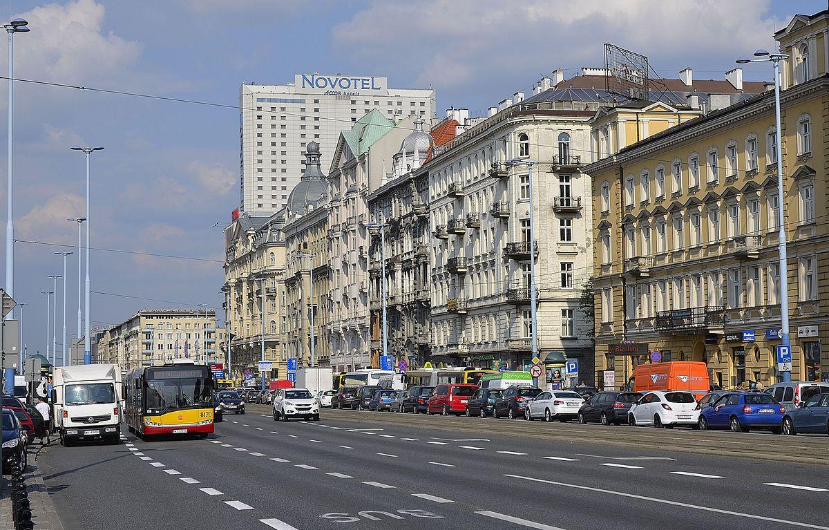 Category Aleje Jerozolimskie Wikimedia Commons