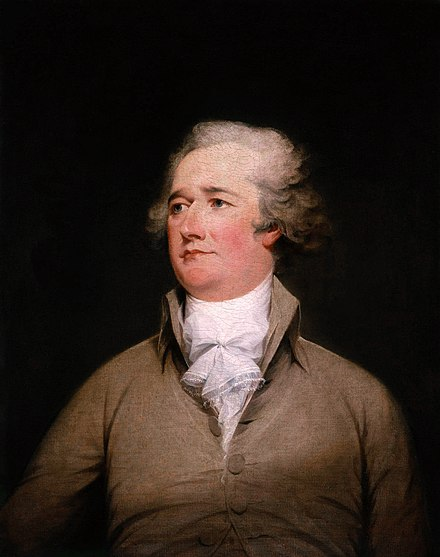 Alexander Hamilton, credited as Father of the National System Alexander Hamilton.jpg