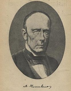 Alexandre Herculano Portuguese writer, poet, journalist