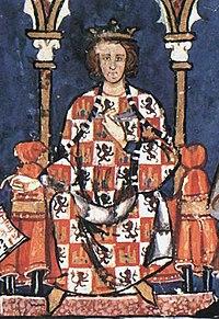 Alfonso X el Sabio en El libro de los juegos.jpg