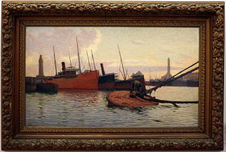 Alfredo Luxoro Italian painter