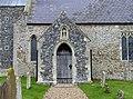 All Saints, Rockland All Saints, Norfolk - Porch - geograph.org.uk - 1704748.jpg