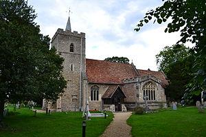Church of All Saints, Little Shelford - Image: All Saints Church Little Shelford