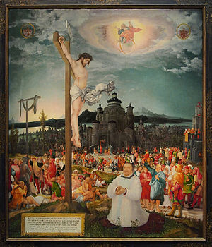 Salvation - Allegory of Salvation by Wolf Huber (ca. 1543), Kunsthistorisches Museum in Vienna