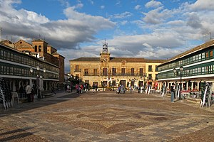 Corral de comedias de Almagro - The corral is situated on Plaza Mayor in the city centre.