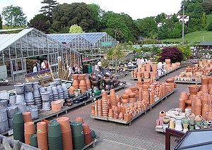 Garden centre - Part of a large garden centre near Bristol, England