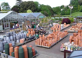 Garden centre - Part of a large garden centre near Bristol, England