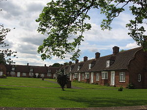Fulford - Almshouses in Fulford