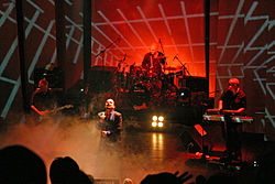 Alphaville live on stage in 2005