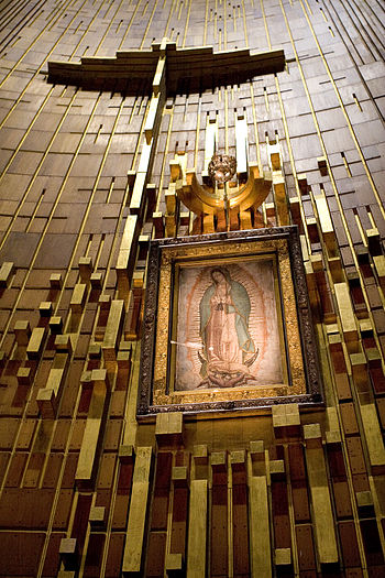 Altar Basilica of Lady Guadalupe