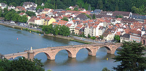 Old Bridge (Heidelberg) - The Old Bridge (Alte Brücke)
