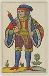 Aluette card deck - Grimaud - 1858-1890 - Jack of Swords.jpg