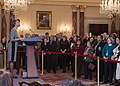 Ambassador Bernicat Delivers Remarks at her Swearing-in Ceremony (16035530348).jpg