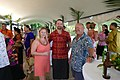 Ambassador Scott Brown and Gail Brown on their second visit to Samoa - Feb 2018 (25165649707).jpg