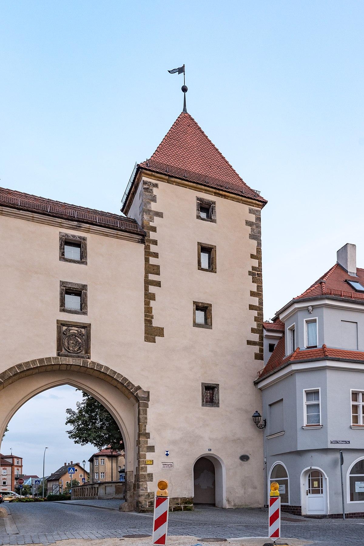 File:Amberg, Stadtbefestigung, Hinter der Mauer 25