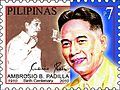 Ambrosio Padilla 2010 stamp of the Philippines 2.jpg