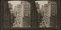 America's greatest thoroughfare; Broadway from the Empire Building, north past Trinity Church steeple, New York, U. S. A., by H.C. White Co..png