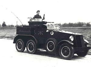 M1 Armored Car - M1 armored car