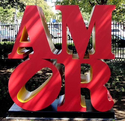 Amor National Sculpture Garden DC Robert Indiana
