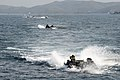 Amphibious assault vehicles approach USS Bonhomme Richard. (40495192002).jpg