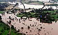 An aerial view of flood affected area of Gujarat, on July 25, 2017.jpg