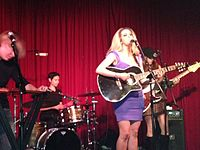 Ana Cristina performs at Hotel Cafe.jpg