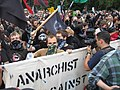 Anarchists in Washington DC, 24 September 2005.jpg