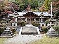 Anashi-ni-imasu Hyōzu Shrine. Haiden(2017-11-19).jpg