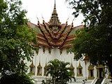 バンコクの王宮にあるドゥシット・マハー・プラーサート宮殿の複製