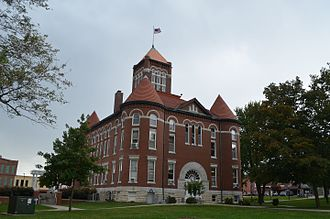 Anderson County, Kansas - Image: Anderson County Courthouse, Kansas 10 10 2016
