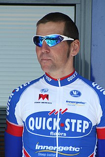Andy Cappelle Belgian cyclist