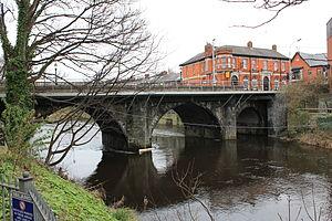 Anna Livia Bridge - Image: Anna Liffey 1